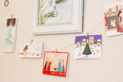 Love these adorable tiny pegs for putting cards on display
