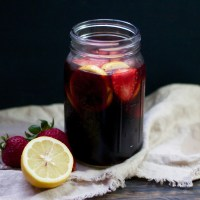 Summer Strawberry Sangria