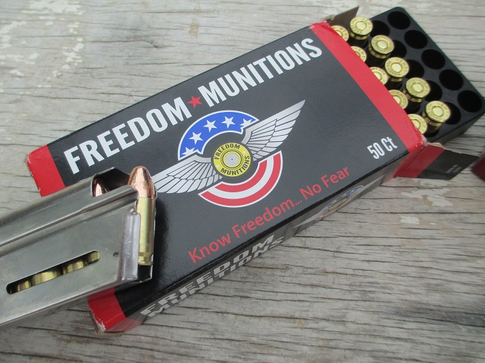 Product Issue: Freedom Munitions 124-grain 9mm FMJ | Handgun