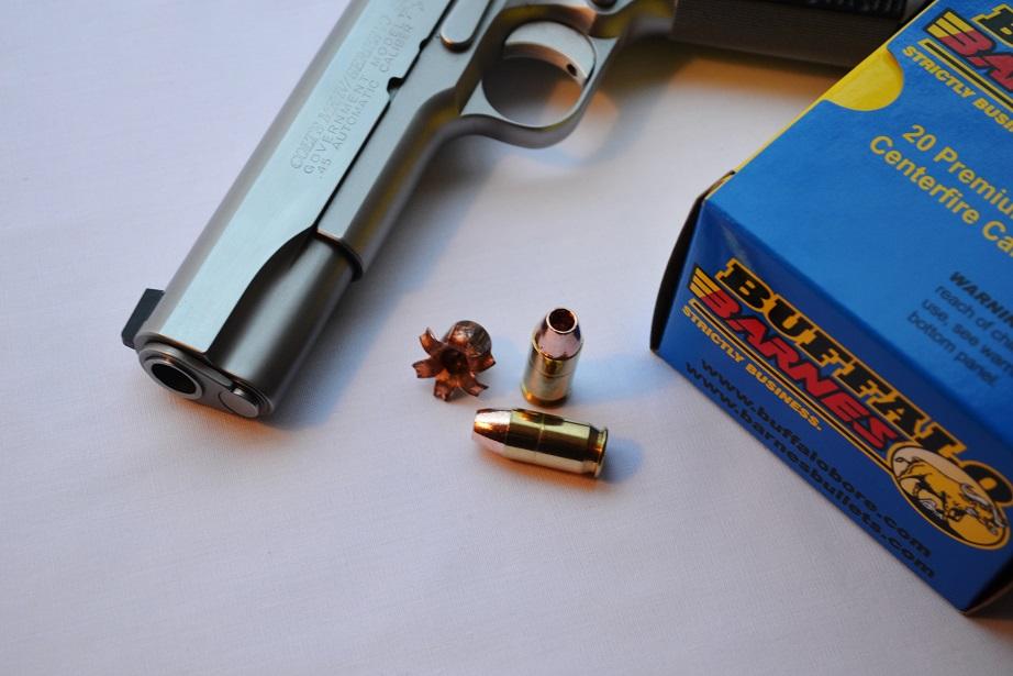 "Ammo Review: Buffalo Bore 160 grain Barnes ""Low Recoil""  45 ACP"