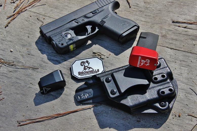 Taran Tactical Innovations Glock 43 Firepower +3 Basepad