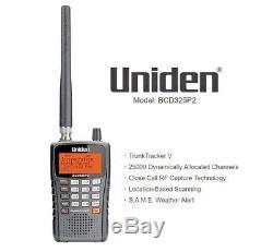 Uniden Police Scanner Bcd325p2 Digital Radio Handheld