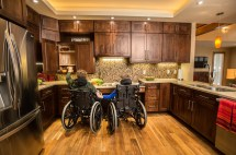 Wheelchair-Accessible Kitchen