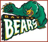Baylor plays Kansas  in the Big XII Tournament 1