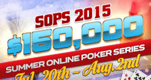 Full Flush Poker: Summer Online Poker Series (SOPS) $150K GTD – Qualifiers Start Today!!!! 1