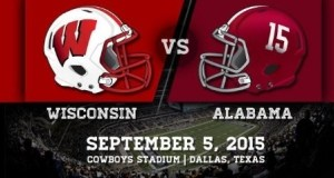 2015 Wisconsin Alabama ATT Stadium