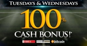 Tues. and Wed 100% Cash Bonus at BetPhoenix