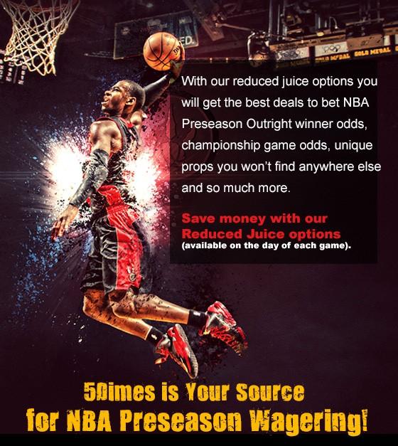 Preseason NBA at 5Dimes