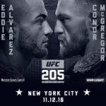 UFC 205 in New York