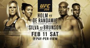 UFC 208 Fighting