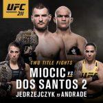 UFC 211 Card