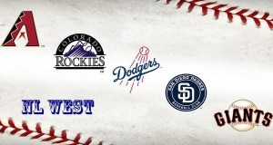 National League West Baseball