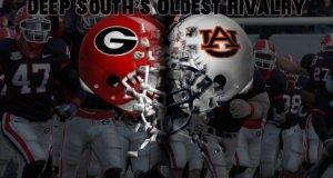 Georgia Bulldogs Vs Auburn Tigers