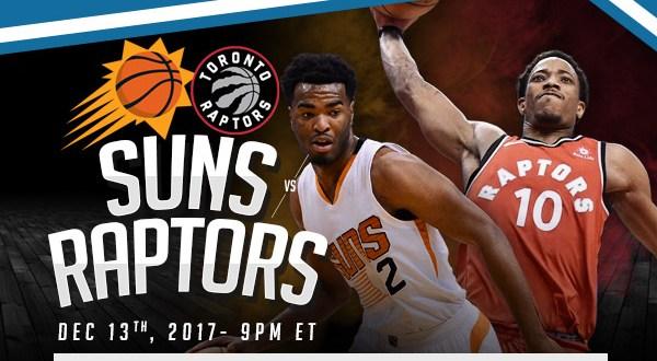 Suns Vs Raptors