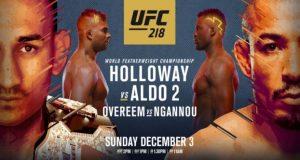 UFC 218 in Detroit