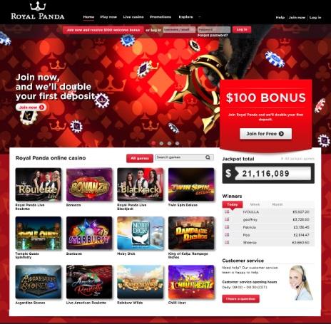 Royal Panda Casino Review 1