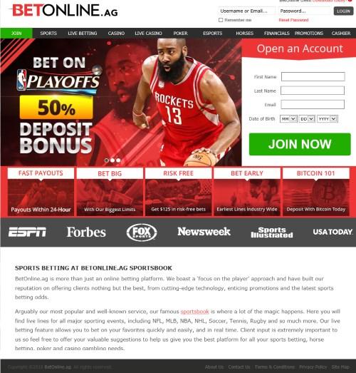 BetOnline.ag Sportsbook Review 1