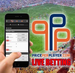 PricePerPlayer.com Upgrades its Live Betting Platform