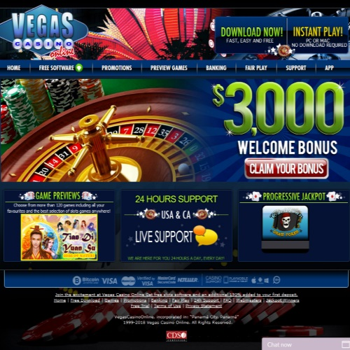 VegasCasinoOnline.eu Casino Review 1