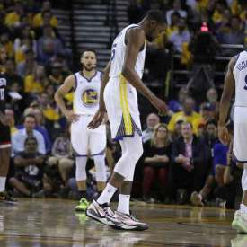 NBA Bookie News: Durant Out for the Rest of Warriors-Rockets Series