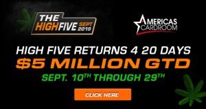 ACR $5 Million High Five