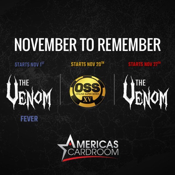 Americas Cardroom 3 in 1 November to Remember