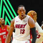 Bam Adebayo of the Miami Heat