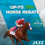 JazzSports Horse Racing 10% Rebate