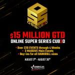 Americas Cardroom $15 Million Dollar OSS Cub3d Poker Series