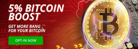 5% Bitcoin Boost at BetOnline