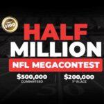 Half Million NFL Mega Contest at BetOnline
