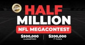 Half Million NFL Mega Contest