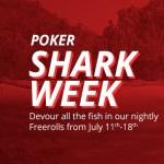 Poker Shark Week at BetOnline