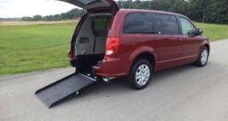 2014 Dodge Grand Caravan SXT – Rear Entry