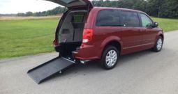 2014 Dodge Grand Caravan SXT – Rear Entry