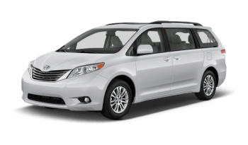 2014 Toyota Sienna LE Taxi Cut Rear Entry Wheelchair Van – Hold upto 6 people