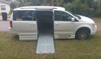 2010 Chrysler Town & Country Side Entry Minivan