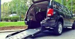 2017 Dodge Grand Caravan GT Rear Entry Wheelchair Van
