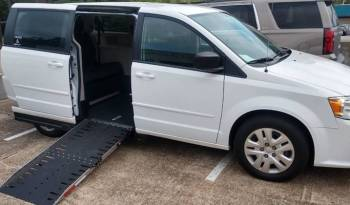 2019 Dodge Grand Caravan SXT Side Entry Wheelchair Van New Conversion full