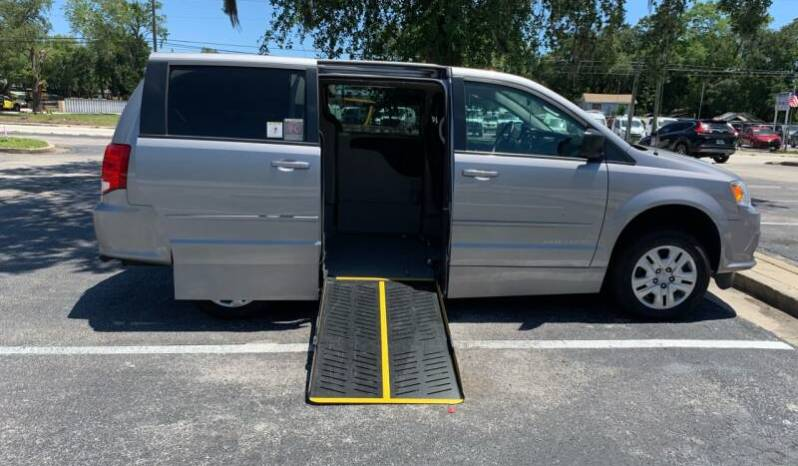 2017 DODGE GRAND CARAVAN SE SIDE ENTRY WHEELCHAIR VAN full