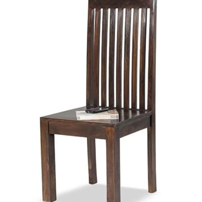 Solid Wood Cube Chair