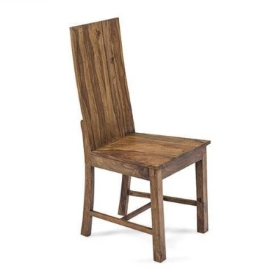 Solid Wood Capital Chair