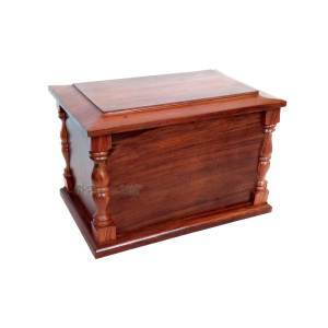 Wood Human Cremation Urns - Wooden Adult Funeral Urn