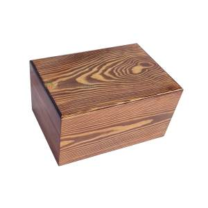 Funeral Ashes Container, Wooden burial Urns For Human, Wood Casket, Home Decor Urn, Timber Box