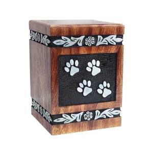 Pet Ashes Cremation Urns, Wooden Urn For Loved one, Memorials Decorative keepsake
