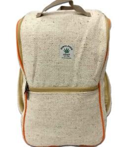 b40938e82a4a8e Natural Hemp Backpack Nepal - Handicrafts in Nepal