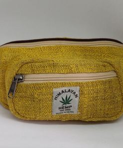 Yellow Hemp Fanny Pack