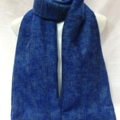 Himalayan Yak Wool Shawl Sky Blue colors
