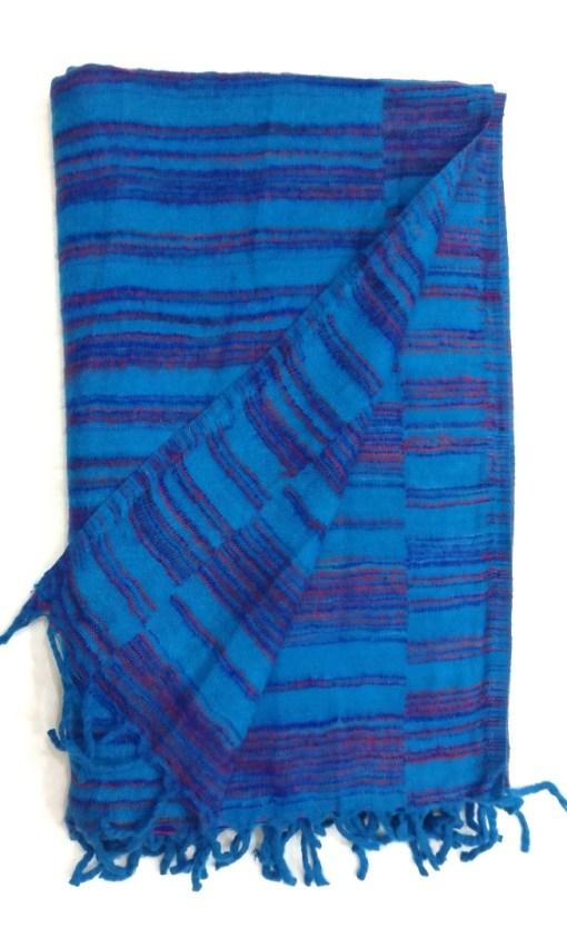 hand-loomed-yak-wool-blanket-blue-color-2