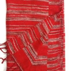 hand-loomed-yak-wool-blanket-red-color-2